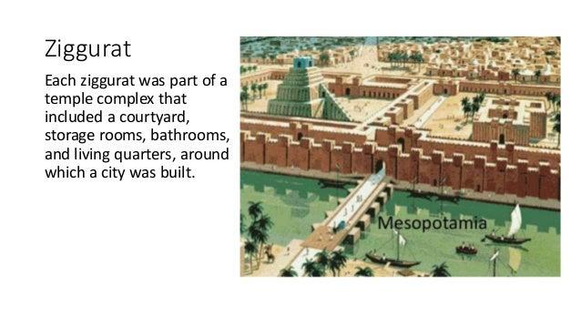 history mesopotamian architecture