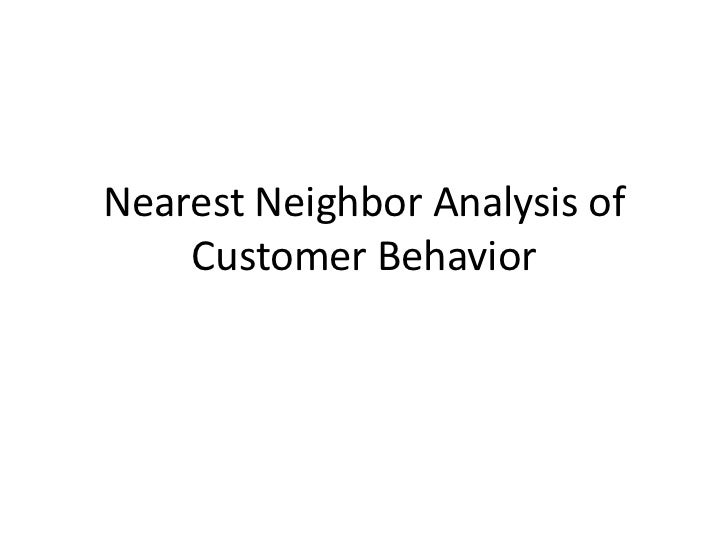 an approach for customer behavior analysis What factors can we consider to analyse consumer behavior  consumer behavior analysis: (a)rational approach to consumer choice  in addition to customer.