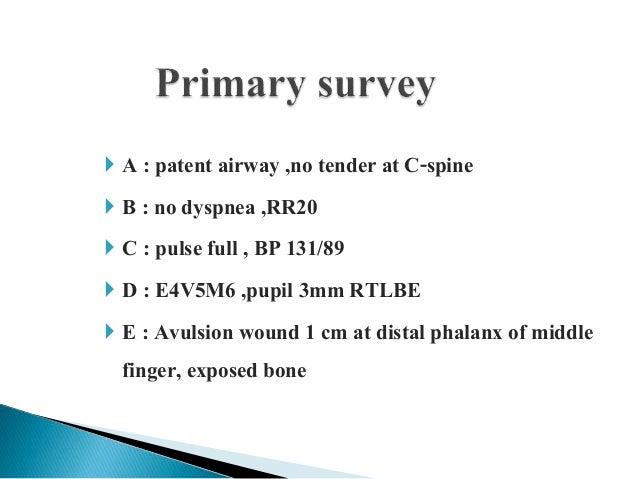 Nearly amputation+nail bed inj Slide 3