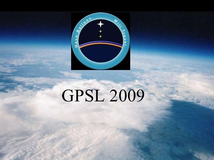 GPSL 2009