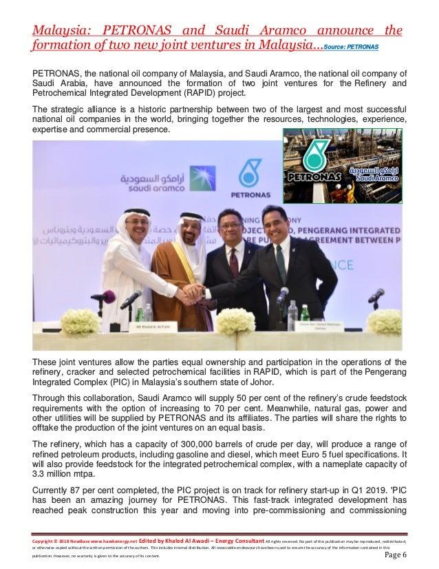 Ne base 01 april 2018 energy news issue 1154 by khaled al awadi