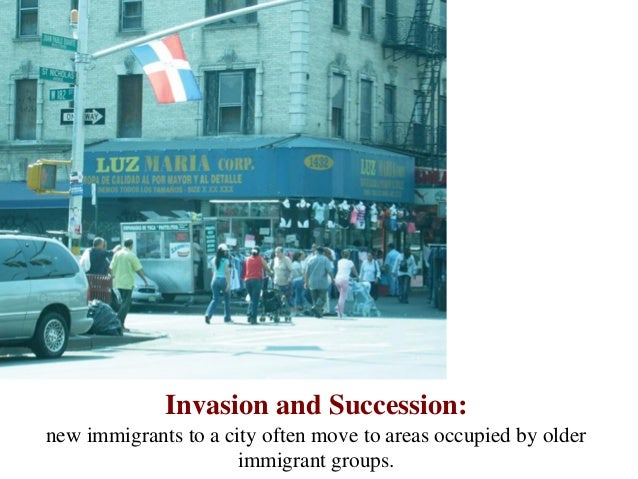 what is invasion and succession