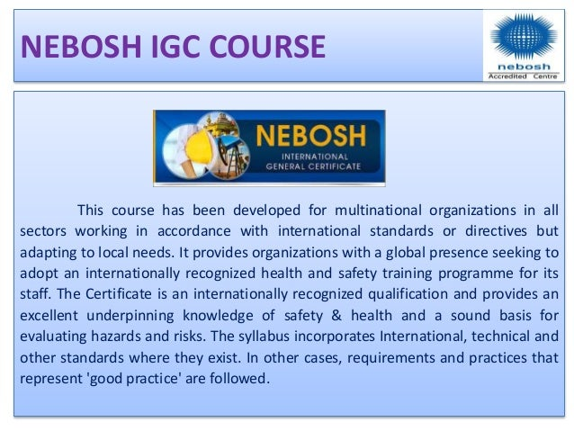 Nebosh Diploma Linkedin Pictures To Pin On Pinterest
