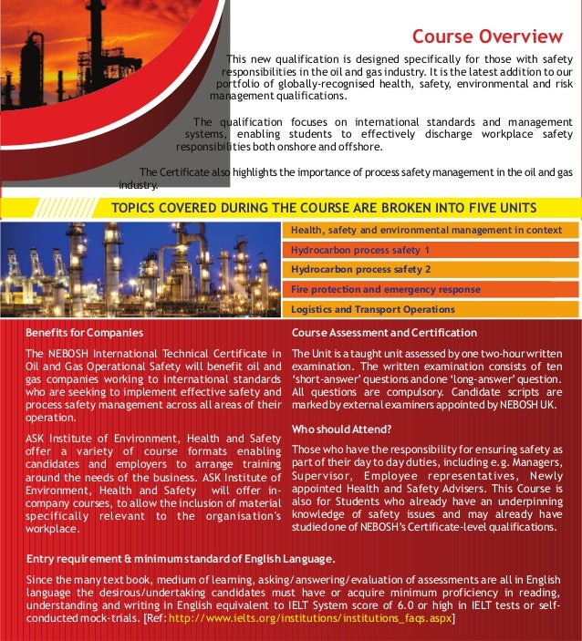 Nebosh Oil And Gas Book