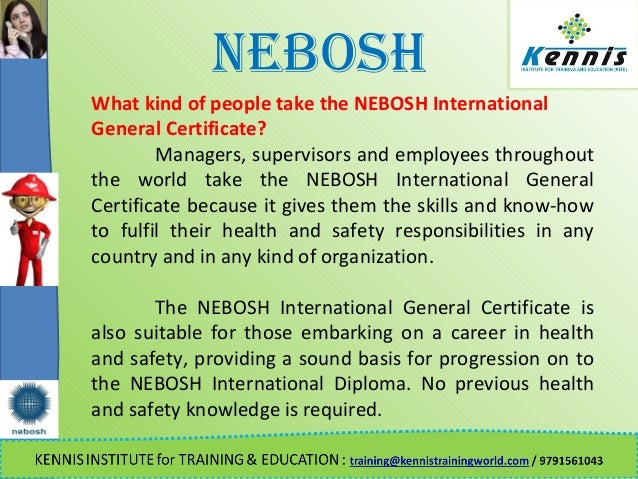 NEBOSH What Kind Of