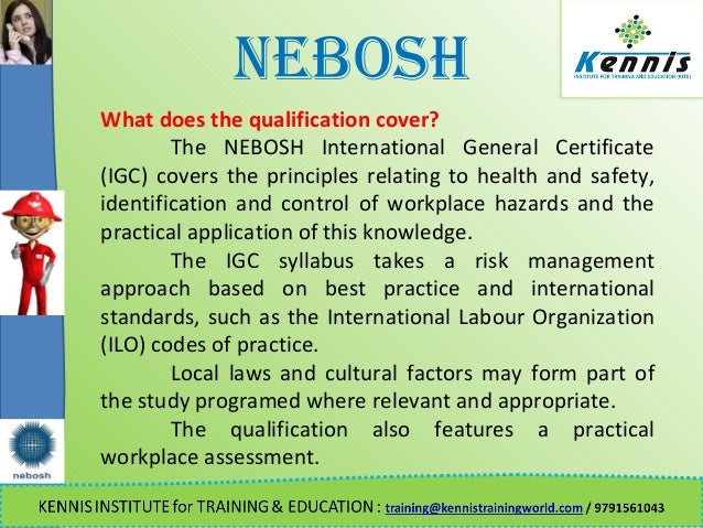 NEBOSH What Does The Qualification
