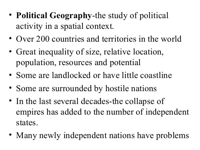 Chapter 8-part i: political geography ppt video online download.