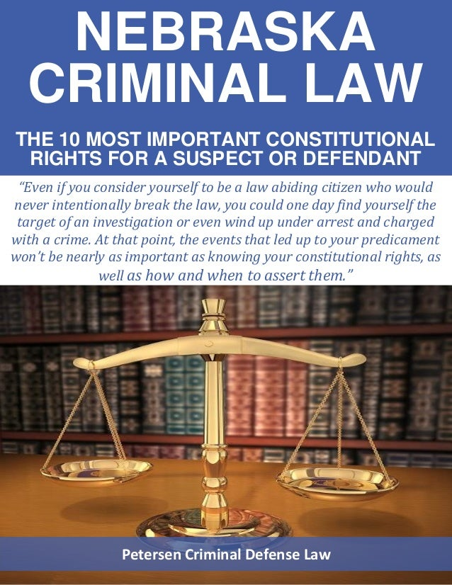 rights guaranteed to criminal defendants Chapter 4 bill of rights the rights guaranteed to citizens it gives any criminal defendant the right to call witnesses in his favor.
