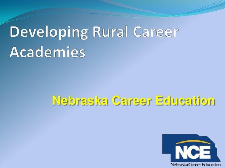 Nebraska Career Education