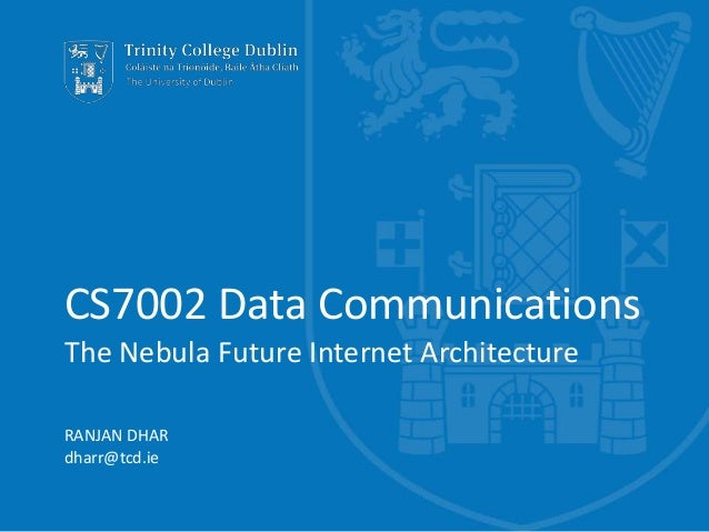 Nebula - The Future Internet Architecture
