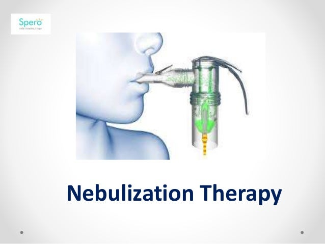 nebulization proper guidelines