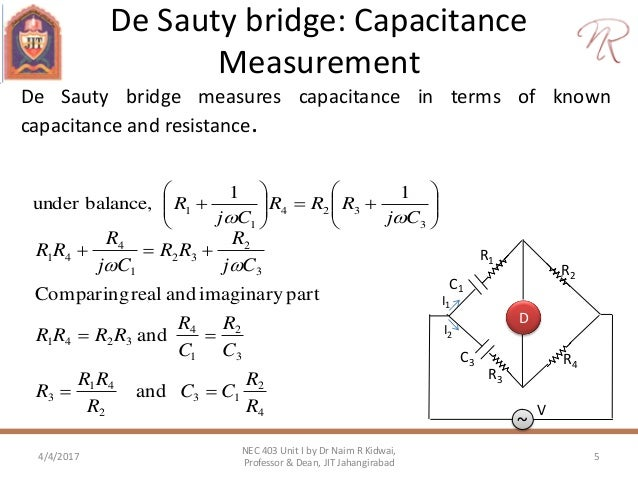 bridges to measure capacitance Measurement methods:quasi bridge measurement,measuring principle is  alternating current bridge method for the measurement of inductance, capacitance, and effective resistance at low and telephonic frequencies, 5th edition.