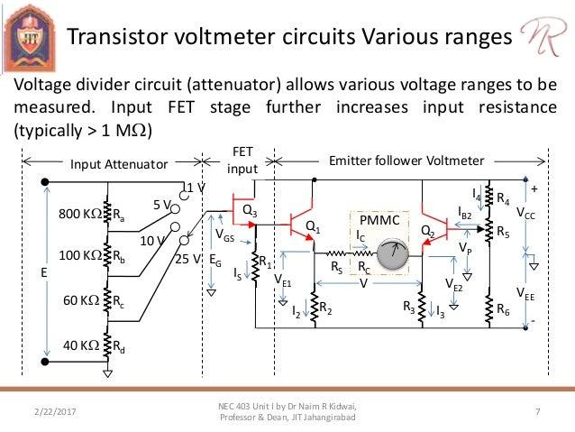 electronic dc voltmeter using pmmc rh slideshare net