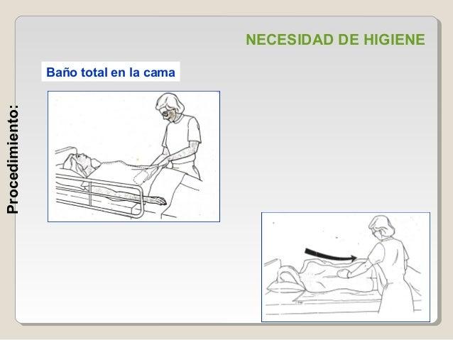 necesidad de higiene en el paciente hospitalizado. exposicion. - Bano General Del Paciente En Cama