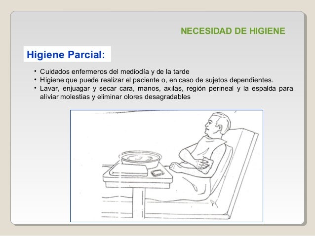 Necesidad De Higiene En El Paciente Hospitalizado Exposicion