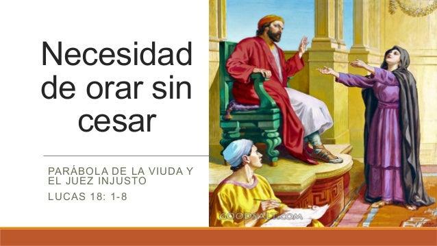 Resultado de imagen para Lucas 18, 1-8