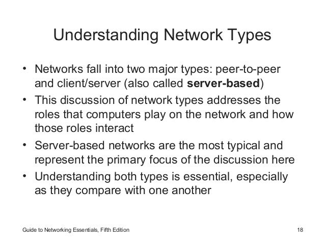 introduction to networks networking concepts rh slideshare net Intergraph Networks Essentials guide to network essentials 7th edition