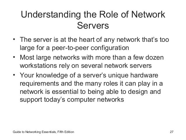 introduction to networks networking concepts rh slideshare net guide to network essentials case project 12-1 guide to network essentials 6th edition pdf