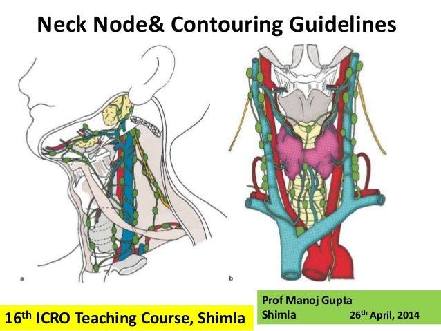 Neck Node& Contouring Guidelines Prof Manoj Gupta Shimla 26th April, 201416th ICRO Teaching Course, Shimla