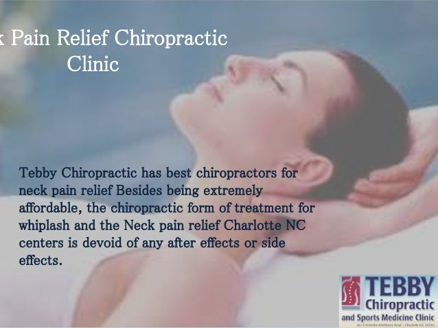 tebby clinic chiropractic clinic for neck pain in charlotte nc