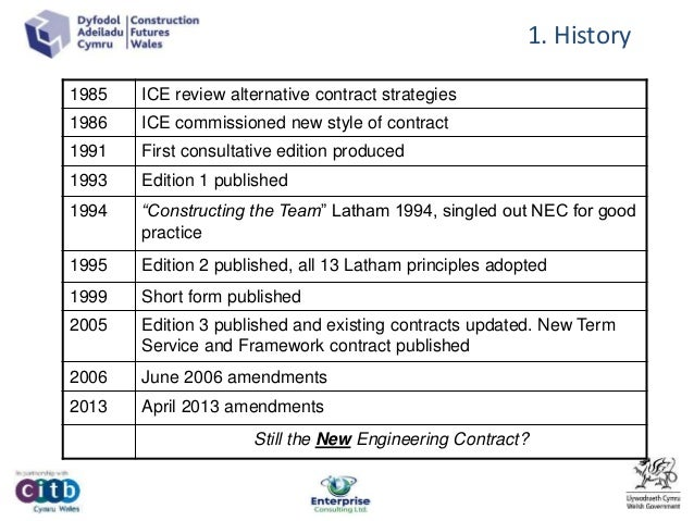 the basics of new engineering contract nec regulatory framework Setting the legal & policy framework government policies and strategies legislative and regulatory frameworks  an engineering, procurement and construction (epc) contract is the most.