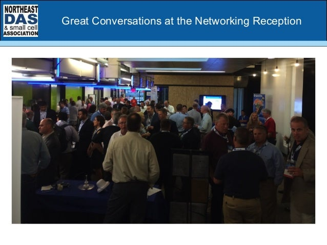 Great Conversations at the Networking Reception