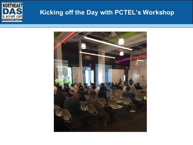 Kicking off the Day with PCTEL's Workshop