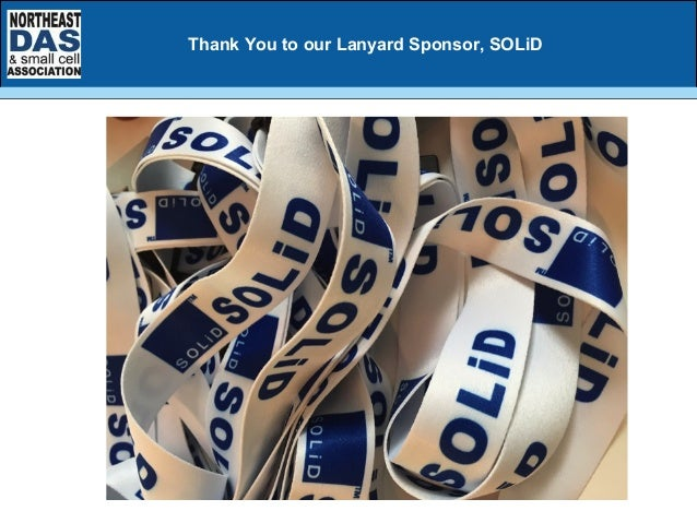 Thank You to our Lanyard Sponsor, SOLiD