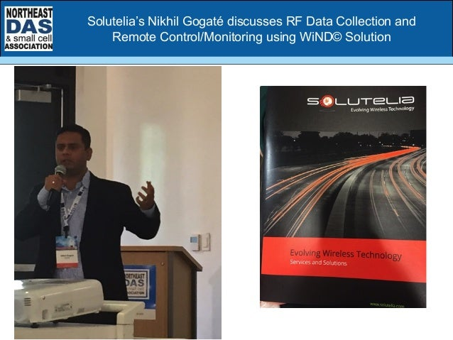 Solutelia's Nikhil Gogaté discusses RF Data Collection and Remote Control/Monitoring using WiND© Solution