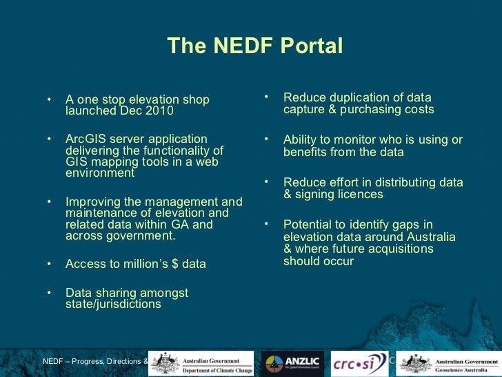 The National Elevation Data Framework - Australia elevation data