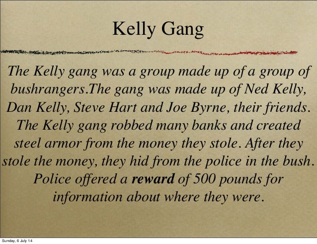 ned kelly kelly