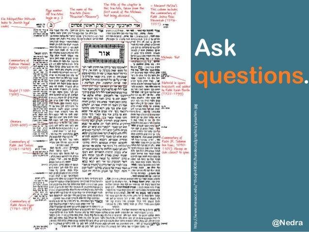 Ask questions. @Nedra http://www.mesacc.edu/~thoqh49081/handouts/graphics/pesahim.jpg