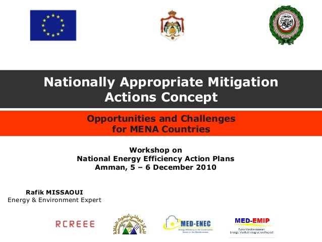 Nationally Appropriate Mitigation                  Actions Concept                      Opportunities and Challenges      ...