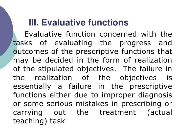 Student special education and diagnostic prescriptive evaluative teaching