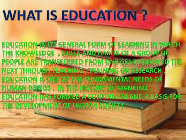 the need and importance of educational Let's take a look at why school is so important to children of all ages  humans are social animals and we need people around us to survive.