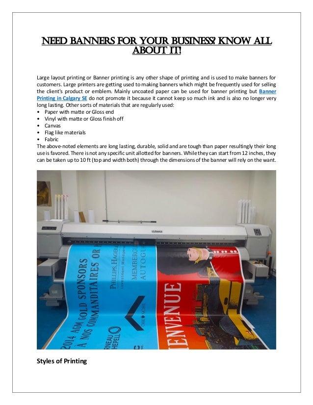 Banner Printing Calgary SE   Printing and Binding Service