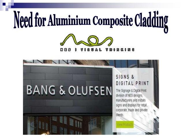 Types Of Cladding Materials : Need for aluminium composite cladding