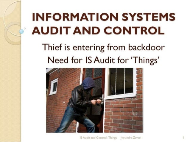 Need for IS Audit
