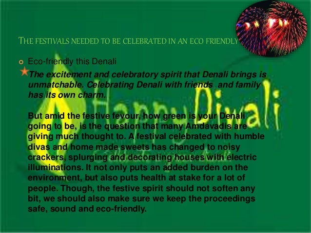 eco friendly diwali essay