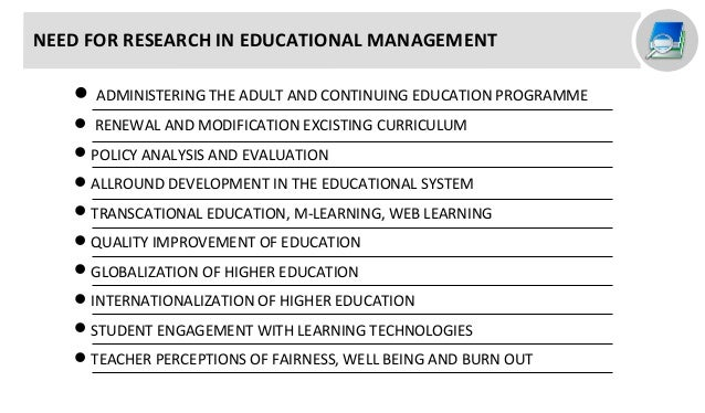 Research topics in education management and administration essay cbt anxiety