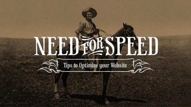NEEDFORSPEED Tips to Optimize your Website