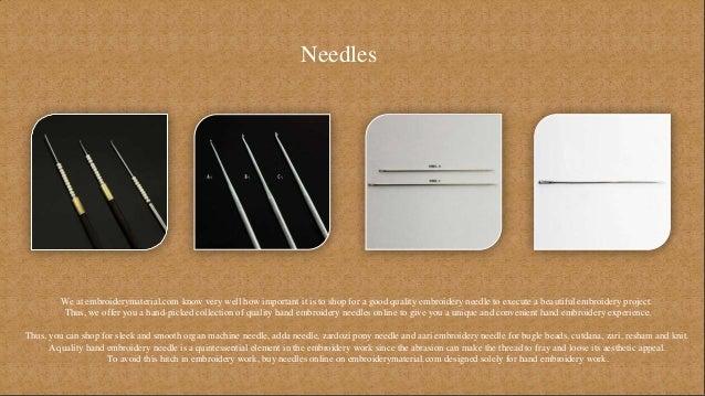 Aari Embroidery Needles Or Hooks To Buy Online
