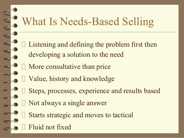 NEED BASED SELLING PDF DOWNLOAD