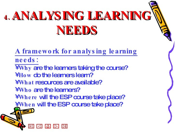 learning needs What are learning needs and why do i need to know about them learning  needs can be categorized as either perceived or real students and instructors  may.