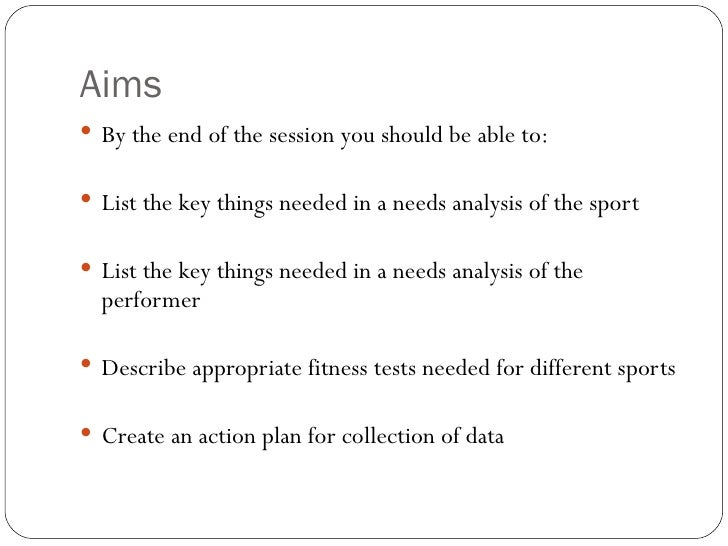 needs analysis 2 A needs analysis or needs assessment can be conducted in more than one way, but all these ways share one point in common: organizations conduct a needs analysis to determine how best to make use.