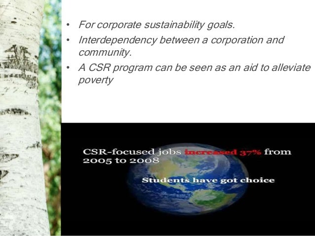 the importance of corporate social responsibility An article on the importance of business ethics to you,  large companies neglecting to set a good example of corporate social responsibility actively hinder the.