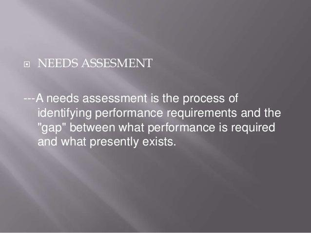 Needs assessment sec c Slide 3