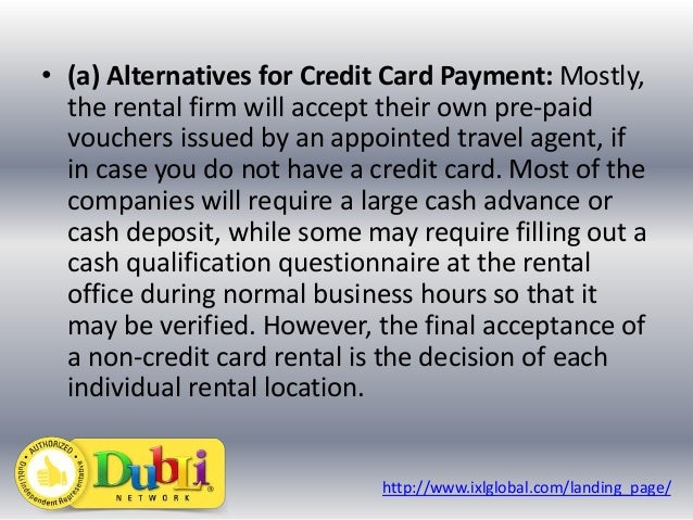 Car Rental Companies That Do Not Require A Deposit