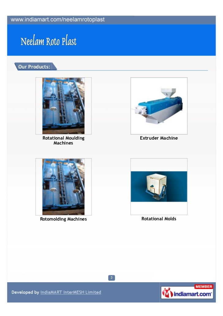Neelam Roto Plast, Ahmedabad, Extruder Machine Slide 3