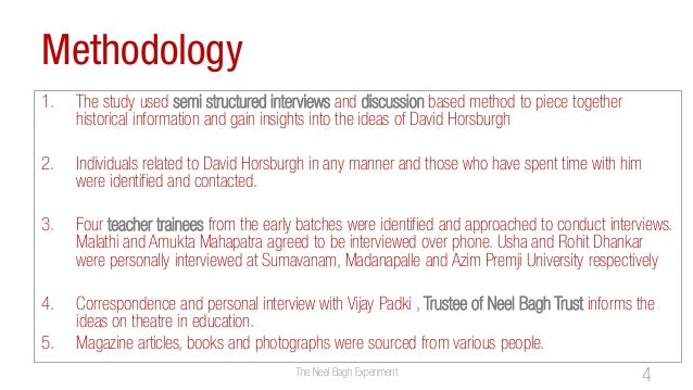 Methodology1. The study used semi structured interviews and discussion based method to piece togetherhistorical informatio...